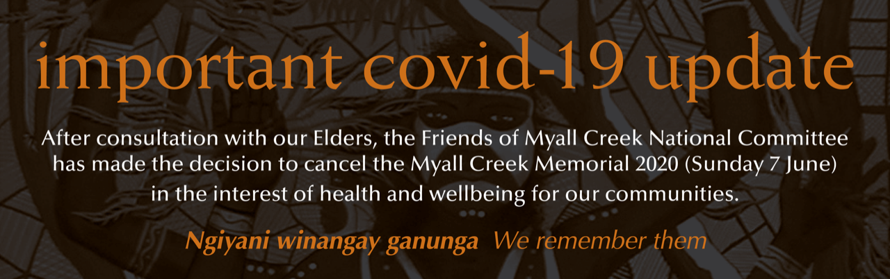 Myall Creek Memorial Ceremony 2020