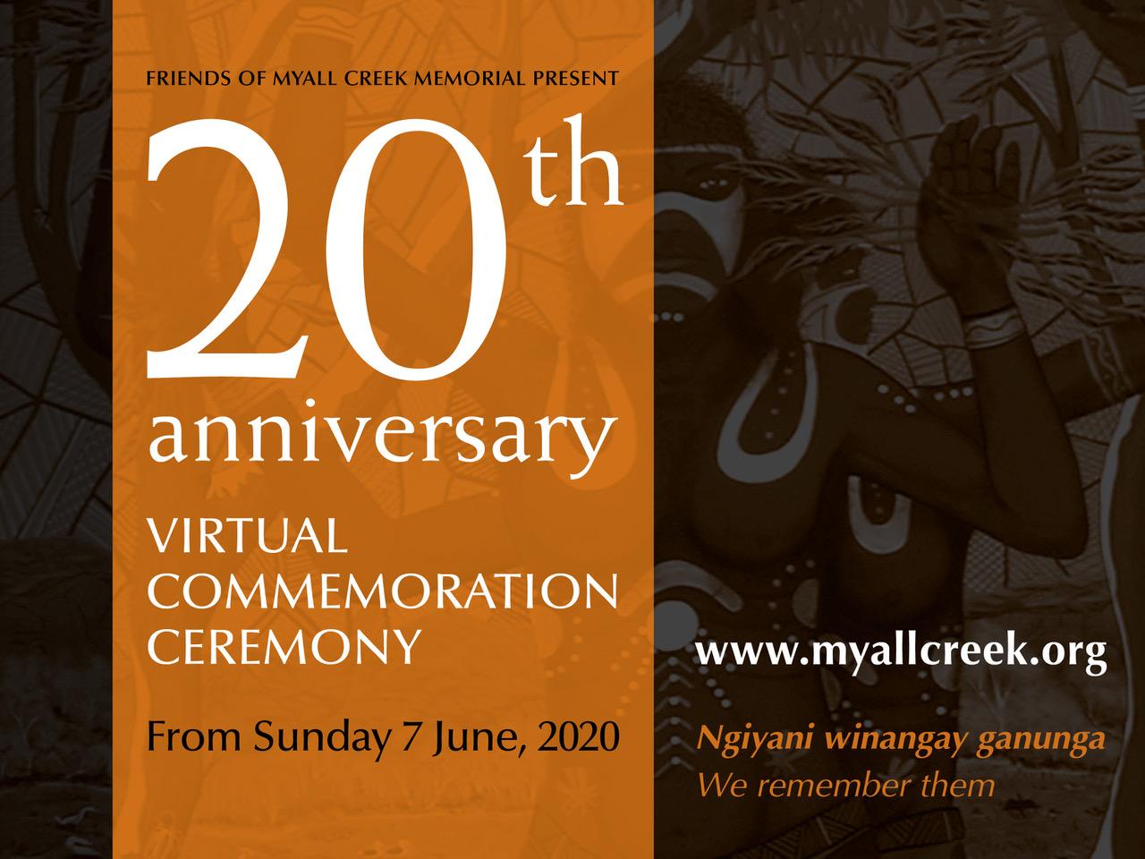 20th Anniversary Virtual Commemoration Ceremony